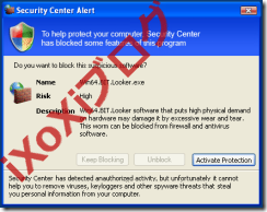 Security Monitor 2012 偽のSecurity Center Alert