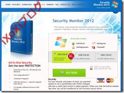 Security Monitor 2012 ショッピングページ