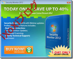 Security Monitor 2012 Todya Only Save Up To 40% 今なら40%お安くっ!?