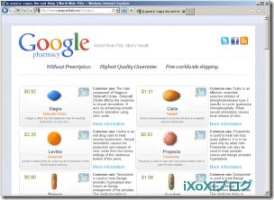検索サイトGoogle(グーグル)が運営する薬局サイト Google Pharmacy!?